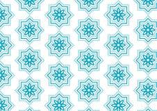 Bannière abstraite islamique de fond de modèle illustration libre de droits