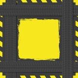 Bannière avec le thème d'automobile Photographie stock libre de droits