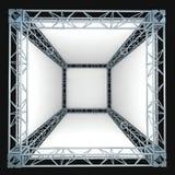 Bannière blanche Images stock