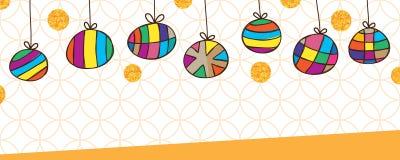 Bannière blanche orange de dessin de cercle de coup de scintillement gratuit de scintillement illustration stock