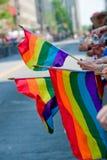 Bannière d'arc-en-ciel Photos libres de droits