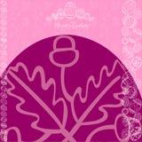 Bannière d'oeufs de fond de Pâques Images stock