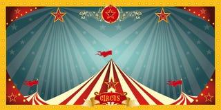 Bannière de cirque d'amusement Images libres de droits