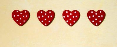 Bannière de jour d'amour et de valentines Photographie stock libre de droits