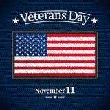 Bannière de jour de vétérans photo stock