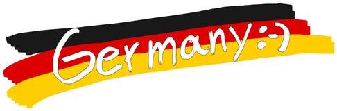 Bannière de l'Allemagne Photo stock