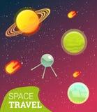 Bannière de l'espace Photos stock