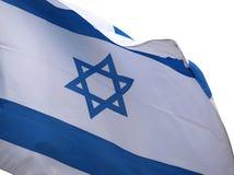 Bannière de l'Israël dessus avec Images stock