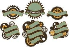 Bannière de mécanisme de Steampunk Photo stock