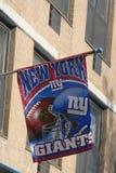 Banni?re de New York Giants photo stock