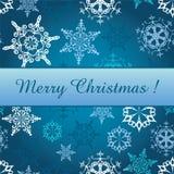 Bannière de Noël Image stock