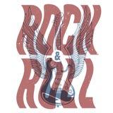 Bannière de rock illustration libre de droits