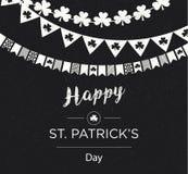 Bannière de St Patrick Images libres de droits