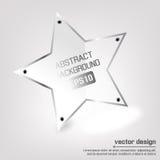 Bannière de vecteur d'étoile Photo libre de droits