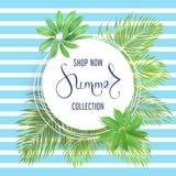 Bannière de vente d'été Images stock