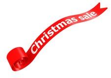 Bannière de vente de Noël Images libres de droits