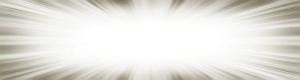 Bannière grise d'explosion de starburst images stock