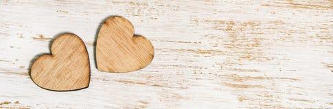 Bannière heureuse de jour du ` s de valentine Images stock
