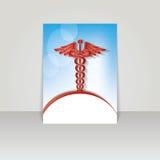Bannière médicale pour le Web ou la copie. Photographie stock libre de droits