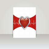 Bannière médicale pour le Web ou la copie. Image stock