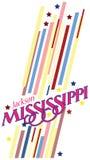 Bannière Mississippi illustration de vecteur