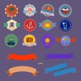 bannière 0215_3 plate Photographie stock libre de droits