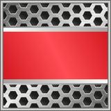 Bannière rouge Image libre de droits