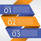 Bannières abstraites. Photo libre de droits