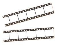 Bannières de bande de film, illustration de vecteur. Images stock