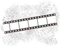 Bannières de bande de film, illustration de vecteur. Photographie stock