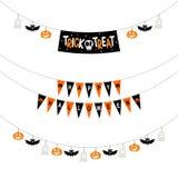 Bannières de partie de Halloween illustration de vecteur