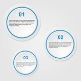 Bannières infographic illustration de vecteur