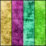 Bannières réglées de la texture grunge Photo libre de droits