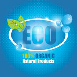 Bannière d'Eco Photos libres de droits
