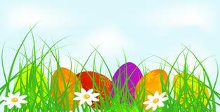 Bannière de Pâques Photographie stock libre de droits