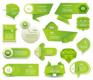 Bannière moderne d'options d'infographics. Illustration de vecteur. peut être employé pour la disposition de déroulement des opéra Photographie stock libre de droits