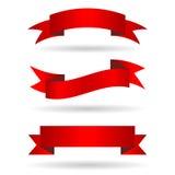 Bannières de ruban Image stock
