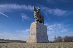 bannockburnbruce monument robert Arkivfoton
