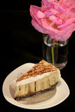 Bannoffee paj (banankakan) Royaltyfri Bild