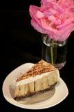 Bannoffee pie (banana cake) Royalty Free Stock Image