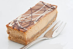 Banoffee Cheesecake Stock Images