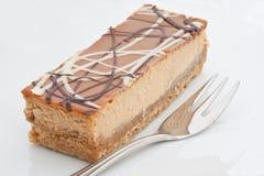 Banoffee Cheesecake Stock Images