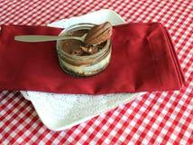 Banoffee Cheesecake Stock Image
