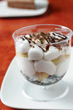 Banoffee in a cup Stock Photos