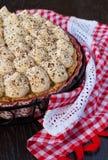 Banoffee-Torte Stockbilder