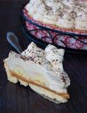 Banoffee-Torte Stockfotografie
