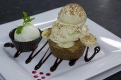 Banoffee-Torte Stockfoto