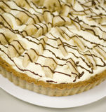 Banoffi Pie Royalty Free Stock Images