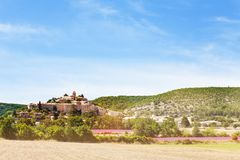 Banon vilage w Provence Francja Fotografia Stock