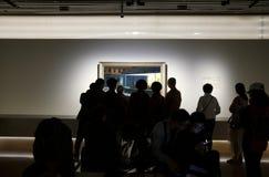 """Banor till modernism: Amerikansk konst, 1865†""""1945 på det Shanghai museet royaltyfri bild"""